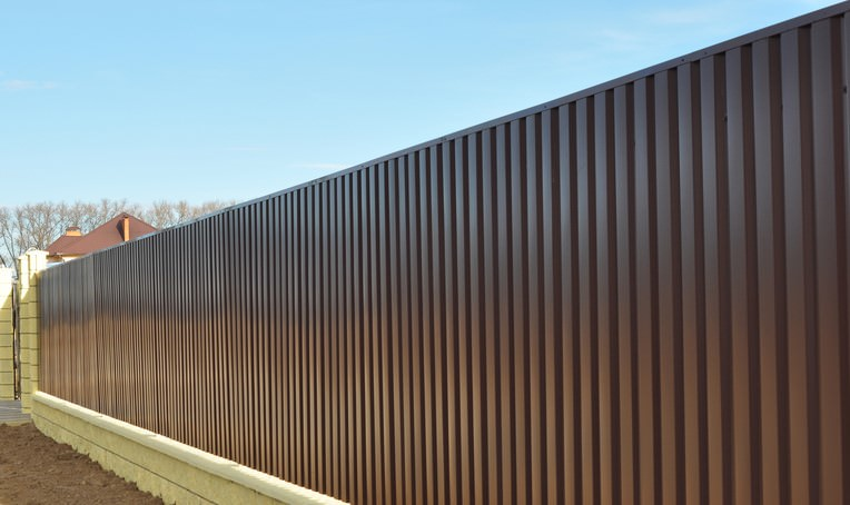 Average Cost for Colorbond Fencing per Metre
