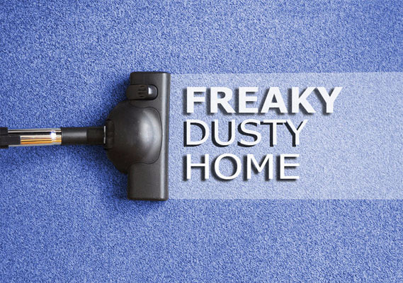 Why is your house always dusty?